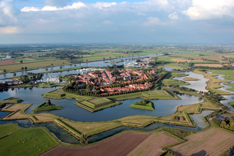 Luchtfoto Heusden Vesting